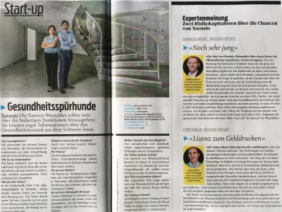 INTERVIEW in BILANZ by VCs