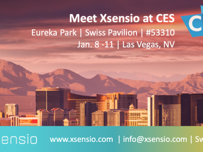 Meet Xsensio at CES!