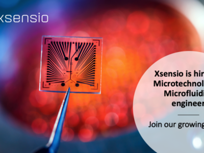 Xsensio is hiring a microtechnology / microfluidics engineer