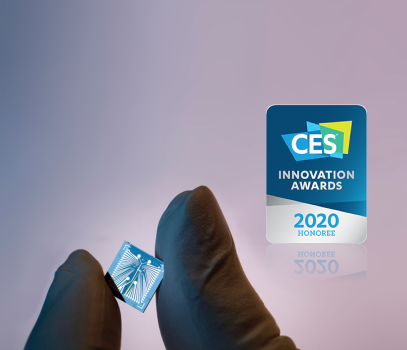 Xsensio receives a CES Innovation Award 2020!